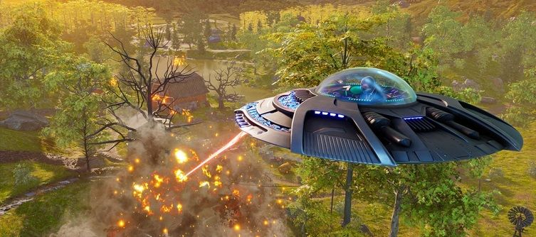 Destroy All Humans Dependence Day Trailer Showcases Destruction