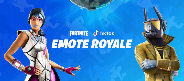 Fortnite and TikTok Team Up for the Emote Royale Contest