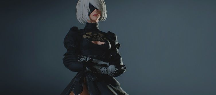 Claire Redfield Becomes Nier Automata's 2B in This Resident Evil 2 Remake Mod