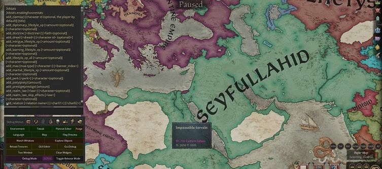 Crusader Kings 3 Console Commands and Cheats List