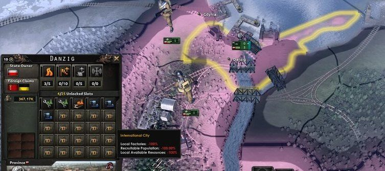 Hearts of Iron 4's Barbarossa 1.11 Update Reworks Poland's Focus Tree