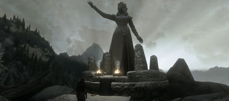 Wintersun Skyrim Special Edition Mod Lets You Worship Gods and Gain Their Favor