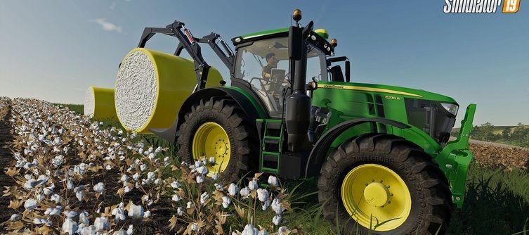 Farming Simulator 19 John Deere Cotton DLC Adds New Vehicle and Equipment