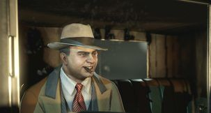 Empire of Sin has no Character Customization, but you can play as Al Capone
