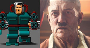 "Wolfenstein 2's Hitler ""Remembers"" Fighting BJ As Mecha-Hitler in Wolfenstein 3D"