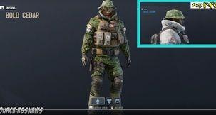 Rainbow Six Siege Leaked Headgear And Uniforms For Tachanka, IQ, Buck, Capitao, Echo, Pulse
