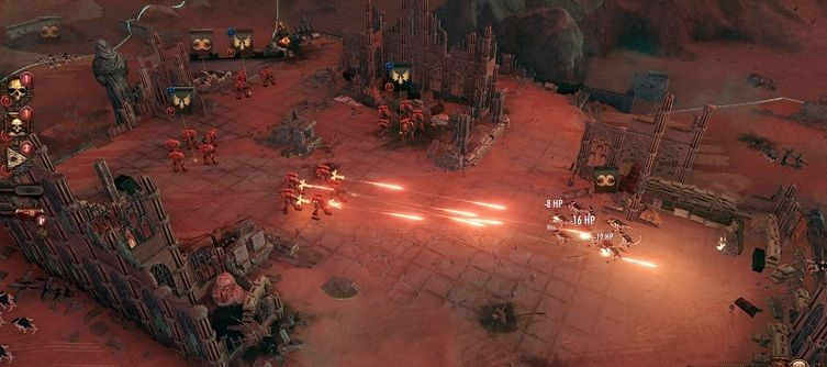 Warhammer 40,000: Battlesector Out Now, Pits Blood Angels Against Tyranids