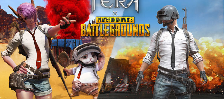 Get an AK47 in TERA as Part of Its PUBG Collaboration