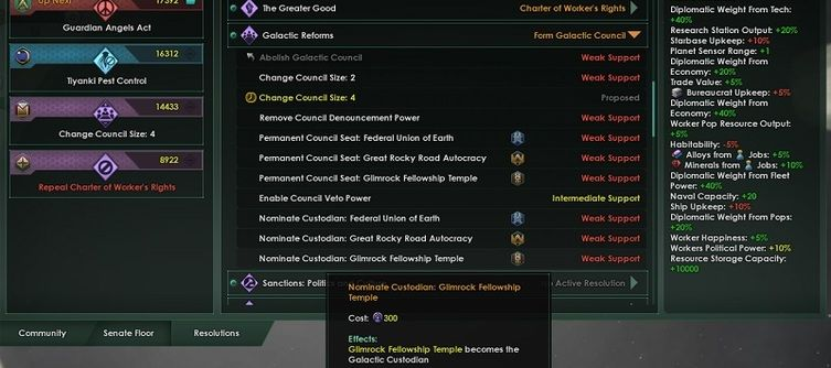Becoming a Custodian in Stellaris: Nemesis Grants You Extra Powers to Stop the Crisis
