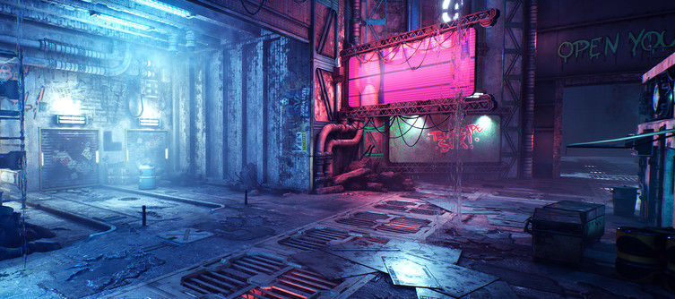 Cyberpunk meets Mirror's Edge in Ghostrunner