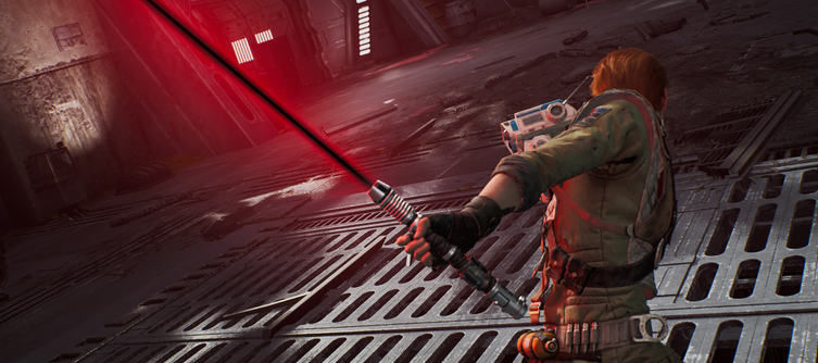 This Jedi: Fallen Order Lightsaber Color Editor Mod Lets You Wield a Dark Core Lightsaber