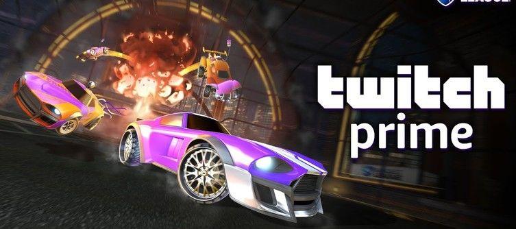 Rocket League Twitch Prime Items announced