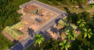 Tropico 6 Planks - How to Make Planks and Collect Wood