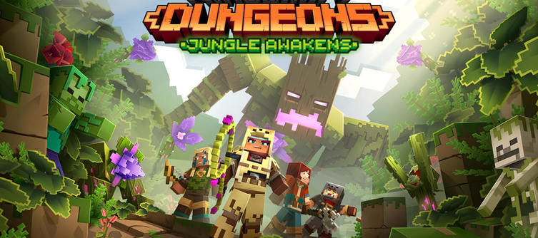 Minecraft Dungeons Jungle Awakens DLC - When Does the First DLC Release?