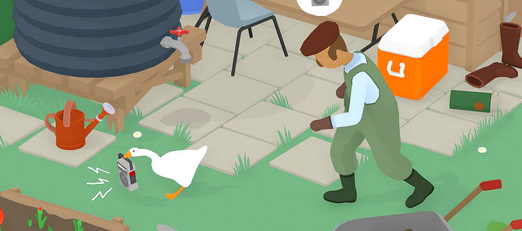 Untitled Goose Game How to Get Hat - Make the groundskeeper wear his sun hat