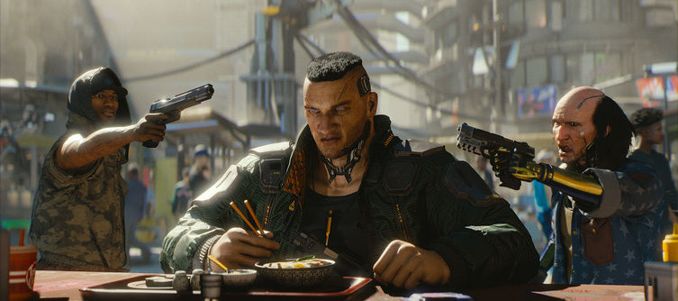 Cyberpunk 2077 Patch Notes -  Update 1.2 Makes Police Spawn Further From Players, Adds Unstuck Feature for Cars