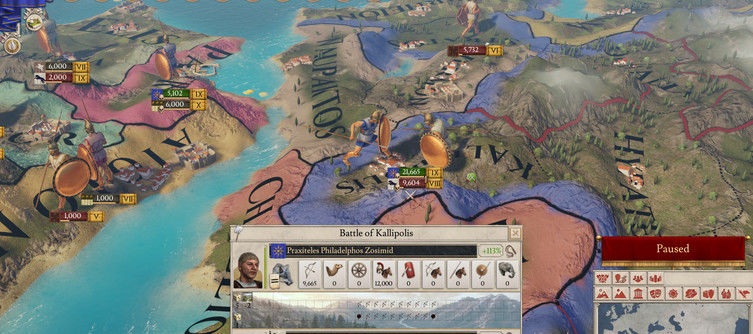 Imperator: Rome Patch 1.3 - Livy Update Patch Notes Revealed