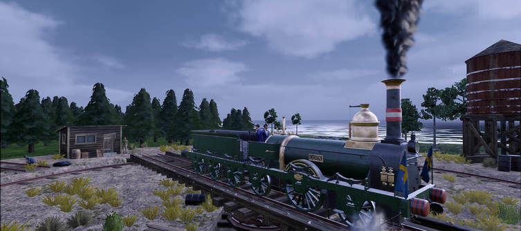 Railway Empire - Northern Europe Tasks You With Aiding the Swedish Government