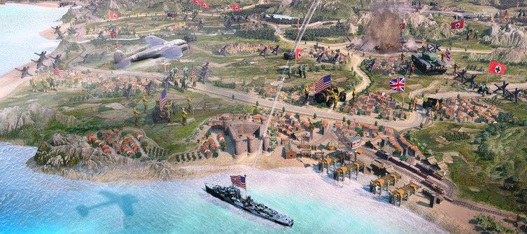 Company of Heroes 3 begins its Mediterranean Assault in 2022