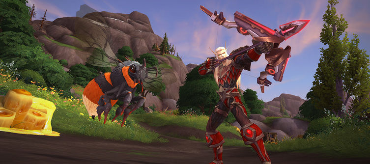 World of Warcraft: Battle for Azeroth's Bee Mount Draws Closer