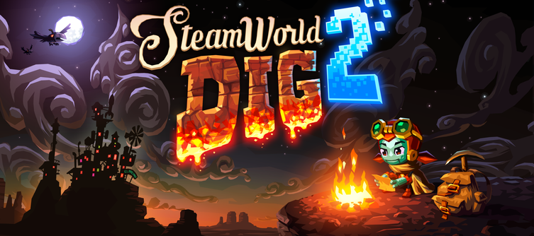 We're Giving Away 5 Free Copies Of SteamWorld Dig 2 - And It Couldn't Be Easier To Enter!