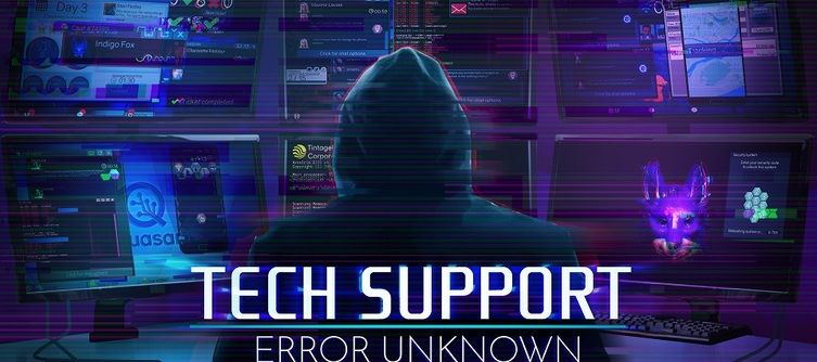Tech Support Error Unknown Release Date Revealed for February