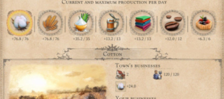 Port Royale 4 Production and Town Management Guide