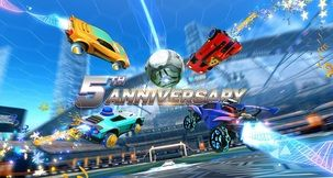 Rocket League Balloons - How to Get the 5th Anniversary Currency