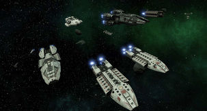 Run for Your Life in Battlestar Galactica Deadlock: Anabasis