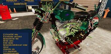 Motorbike Garage Mechanic Simulator Review