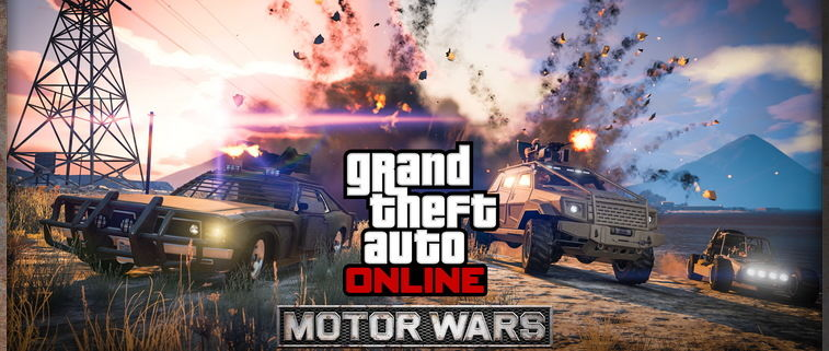 Grand Theft Auto Online Attempts To Combat PUBG With Its Own 'Motor Wars' Gamemode