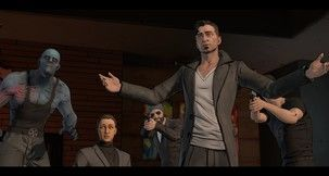 Chris Capel bams and thwacks his way through the second episode of Telltale's Batman series.
