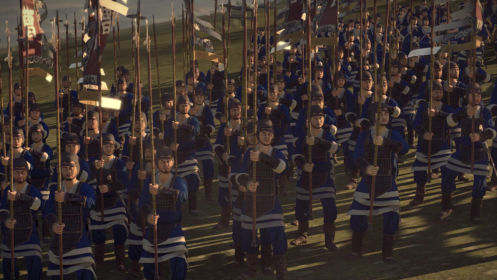 Dynasty Warriors Colors Scheme Mod - Total War: Three Kingdoms Mods
