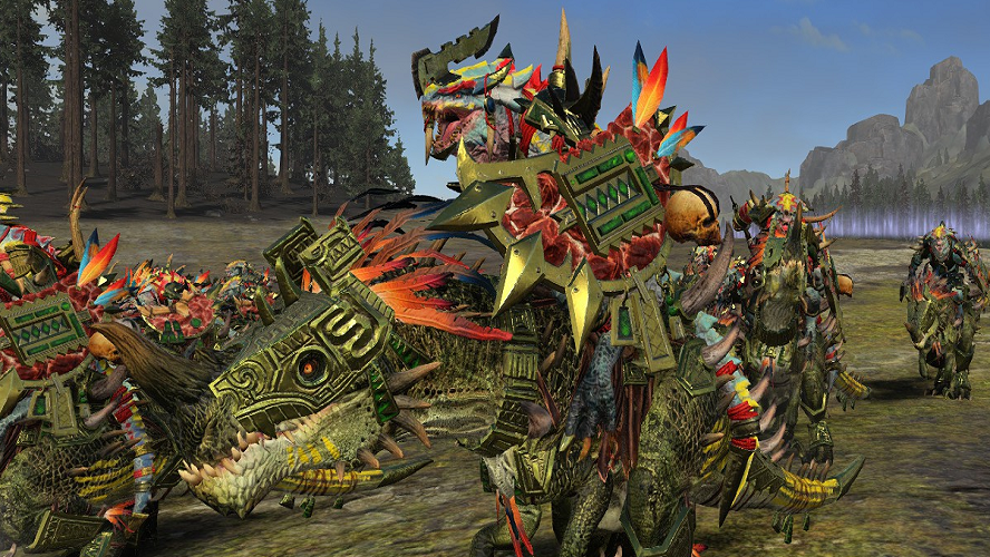 Lizardmen Redone - Total War: Warhammer 2 Mods | GameWatcher