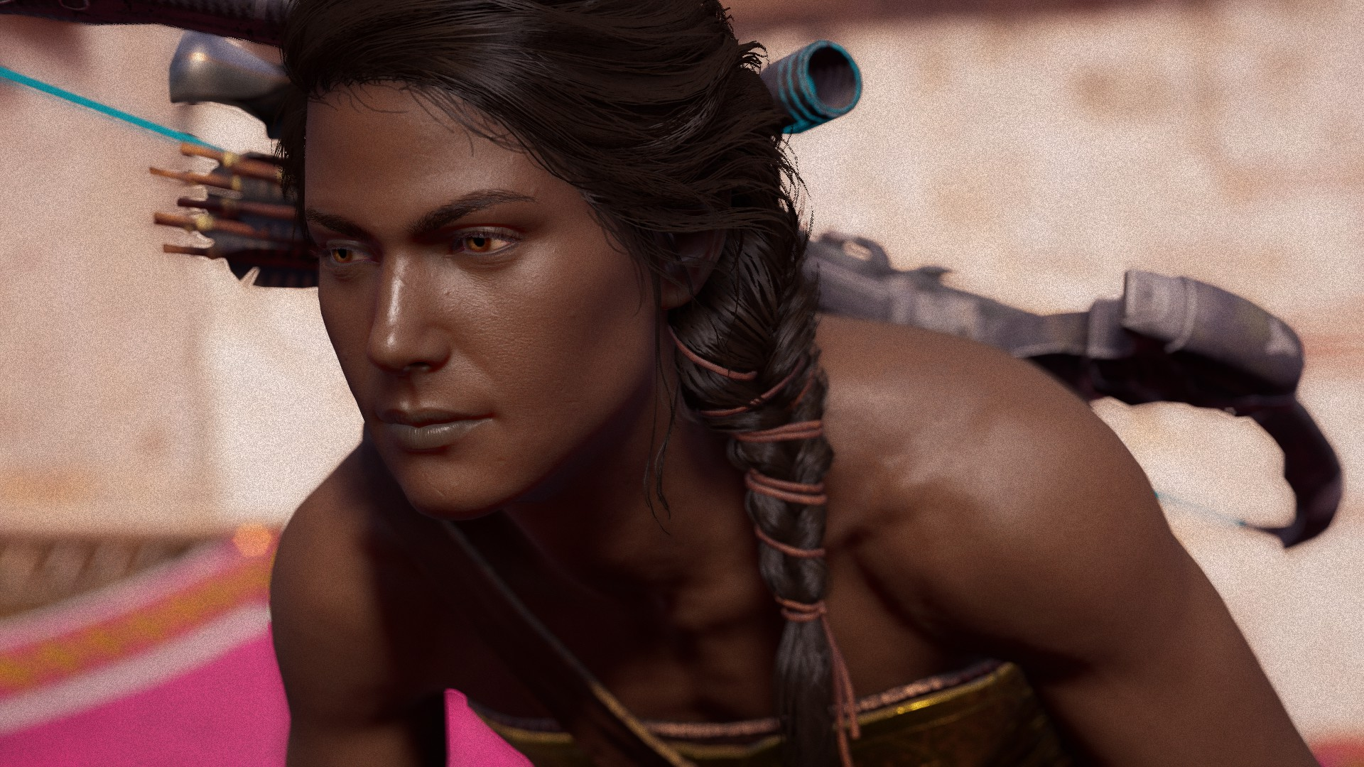 And you thought Kassandra was a meaty gal at Assassins
