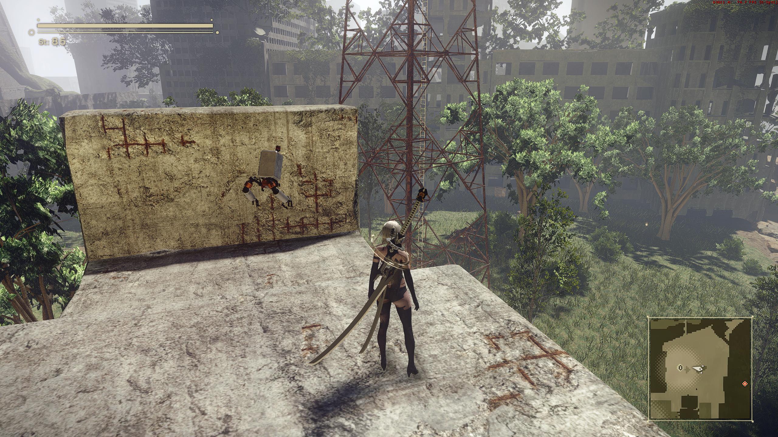 Clean Reshade Preset Mod - NieR: Automata Mods | GameWatcher
