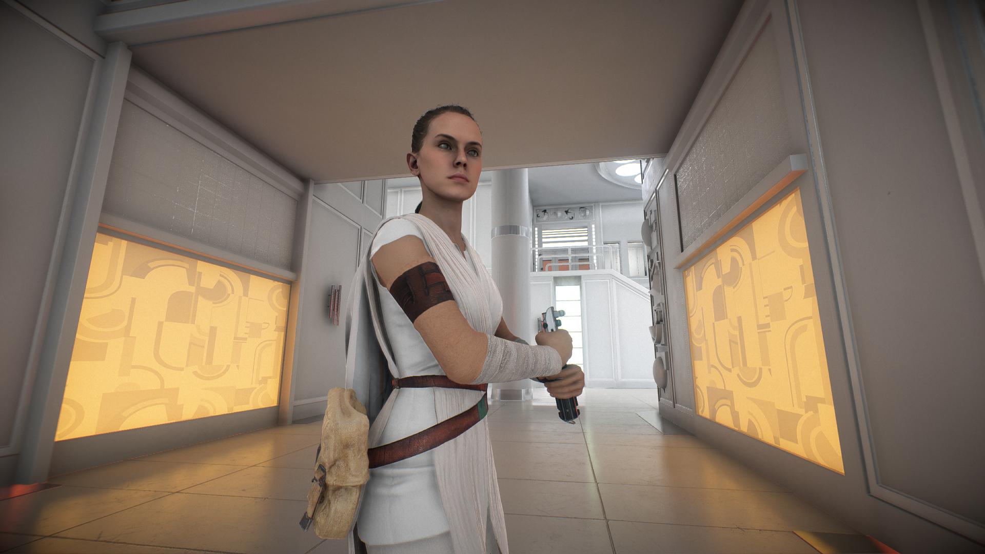 Rey From Star Wars Ix The Rise Of Skywalker Mod Star Gamewatcher