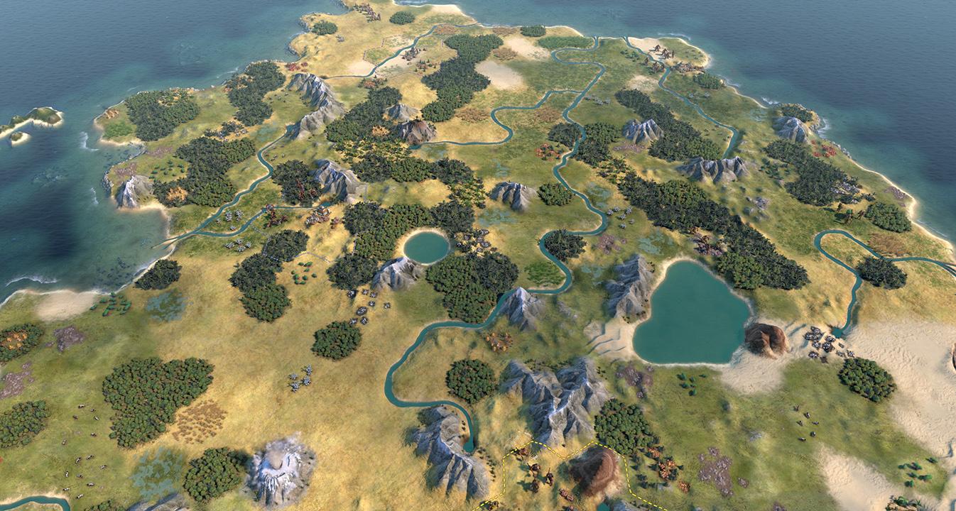 Environment Skin Sid Meier's Civilization V Mod - Civilization VI