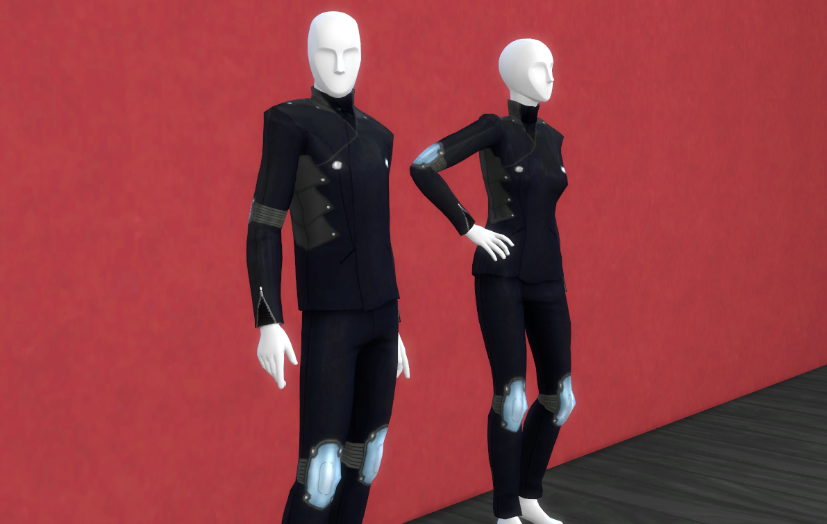 Persona 5 CC - Skull Outfit Mod - The Sims 4 Mods   GameWatcher