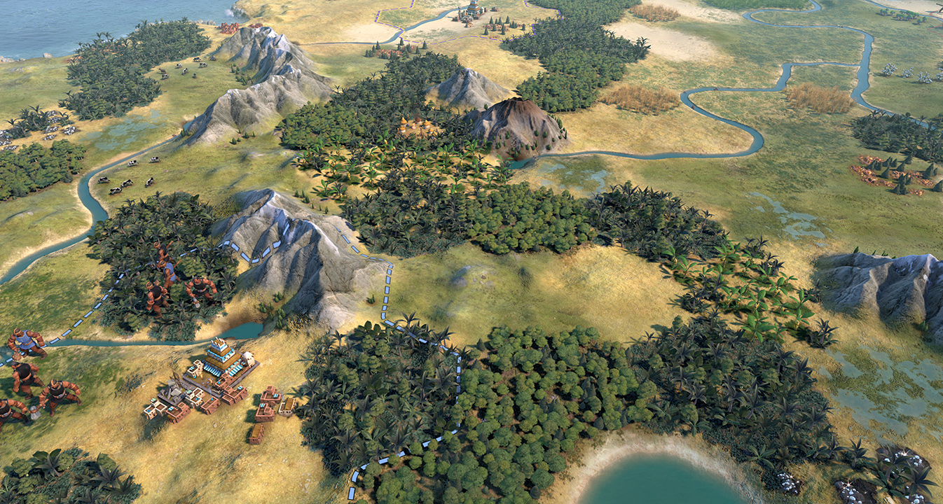 Environment Skin Sid Meier's Civilization V Mod