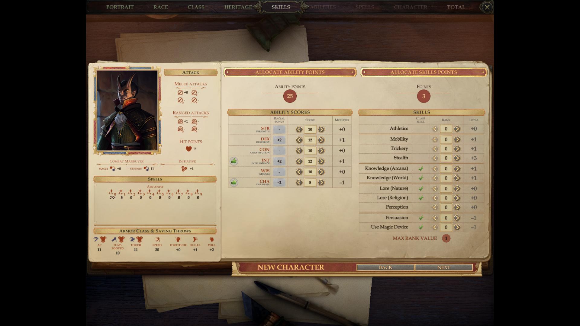 Arcanist Mod - Pathfinder: Kingmaker Mods | GameWatcher