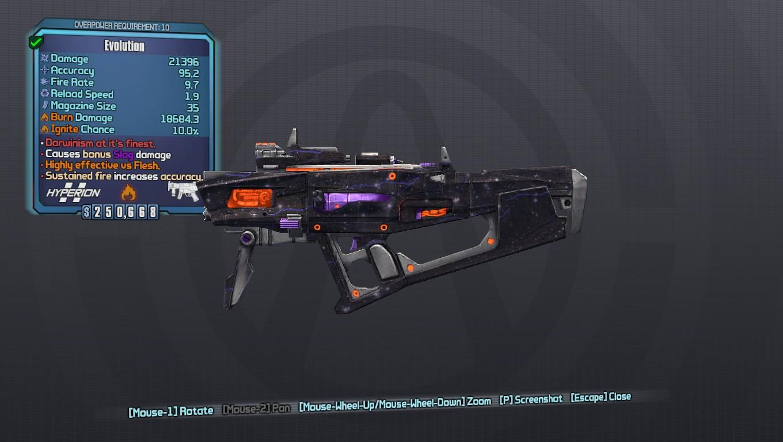 Evolution Weapon Mod - Borderlands 2 Mods | GameWatcher