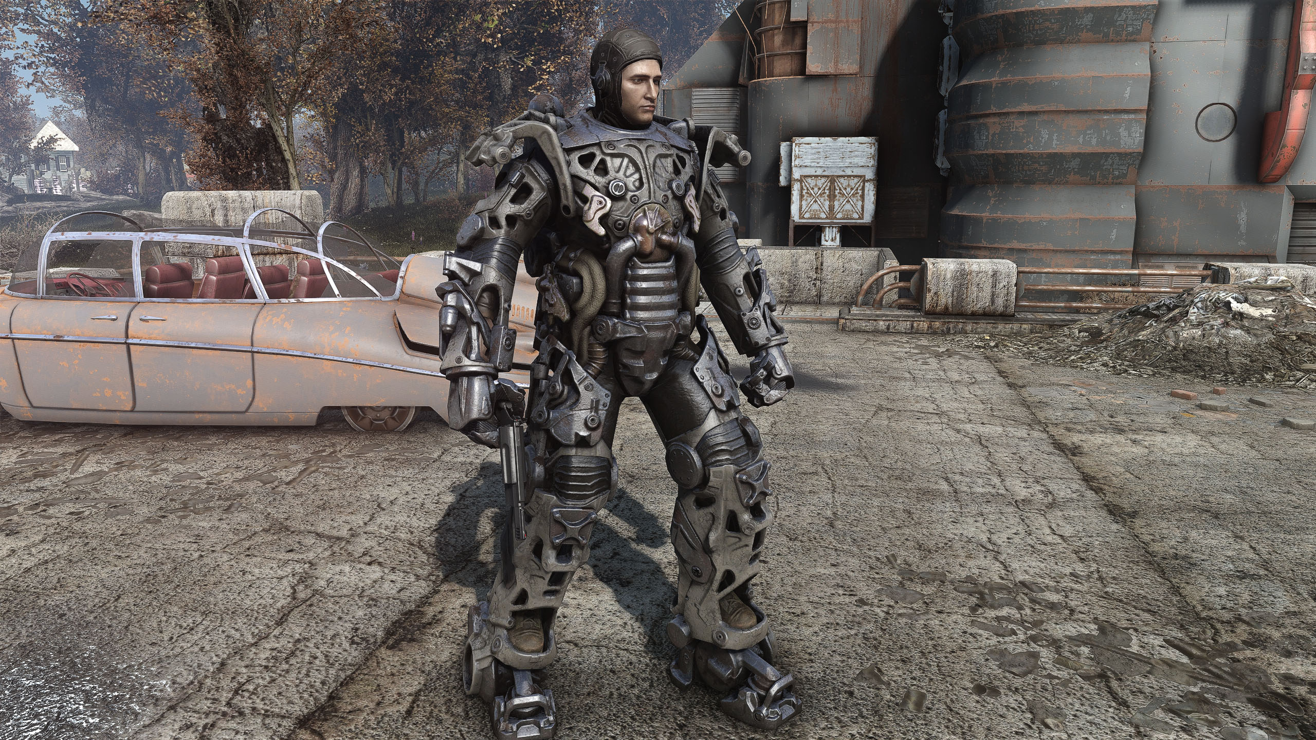 Power Armor Frame 4K UHD Mod - Fallout 4 Mods | GameWatcher