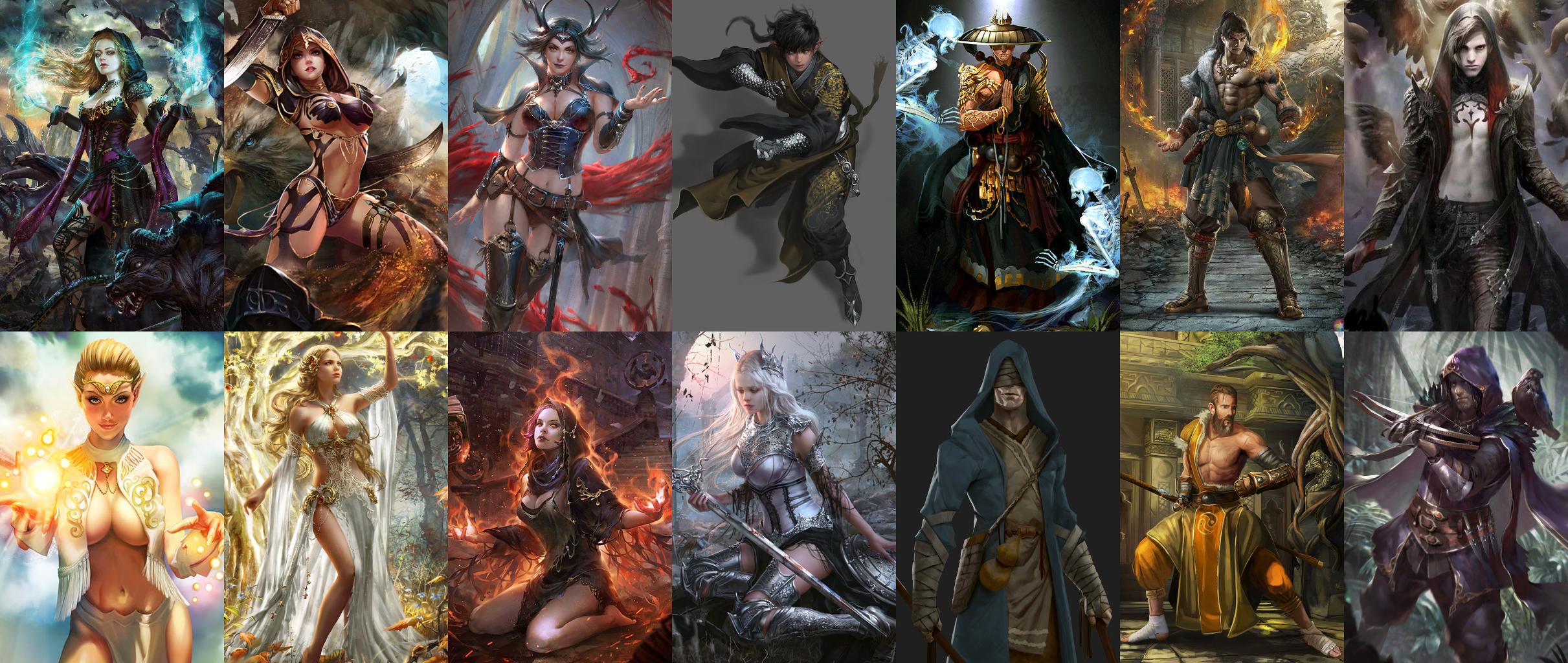 Various Portrait Pack - Pathfinder: Kingmaker Mods | GameWatcher