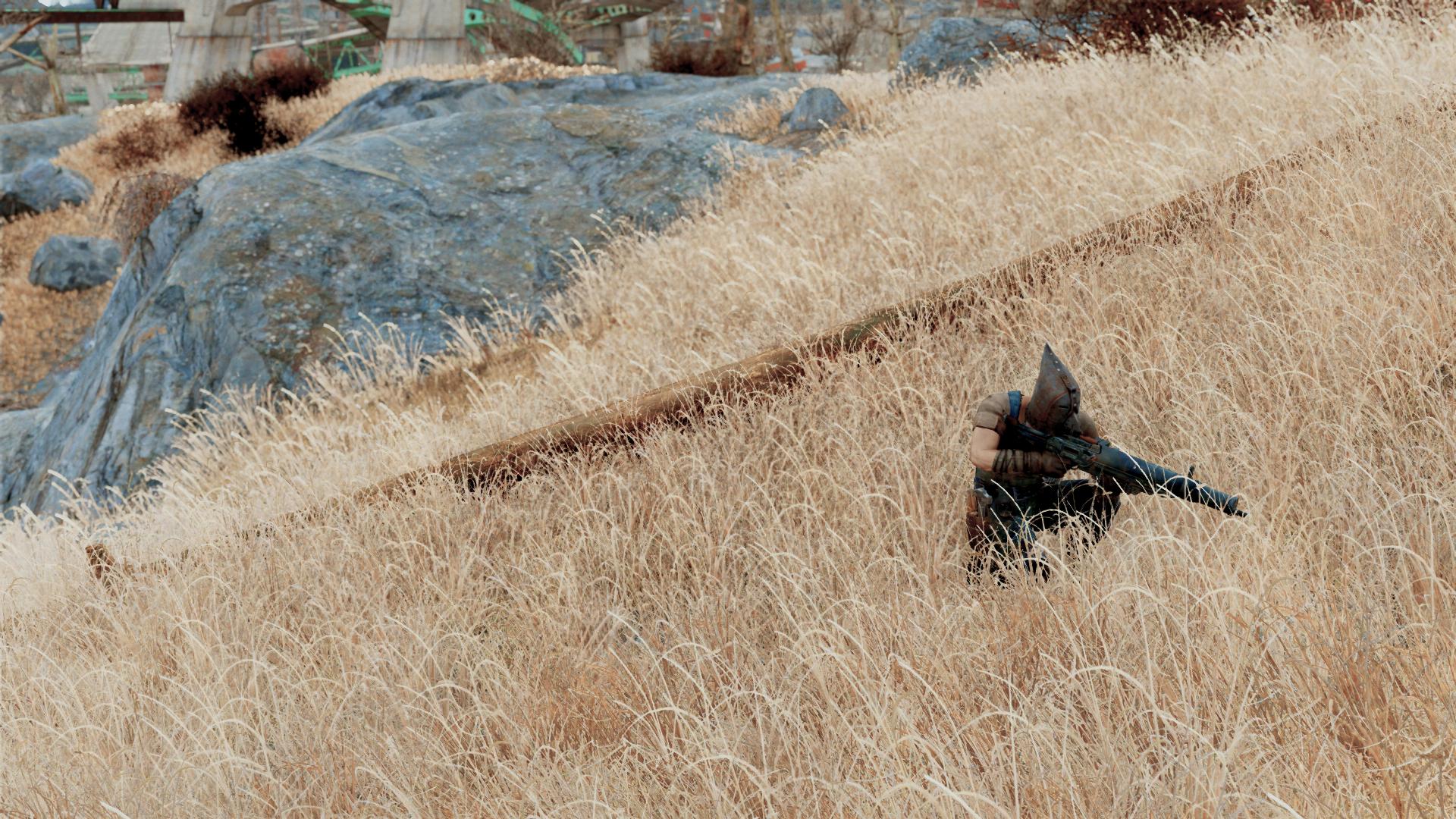 Golden Grass Mod - Fallout 4 Mods | GameWatcher