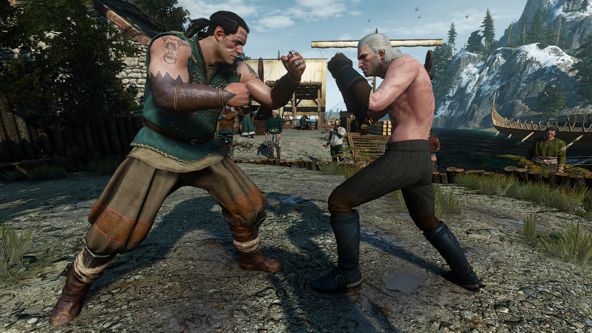Improved Fist Fights Mod - The Witcher 3: Wild Hunt Mods
