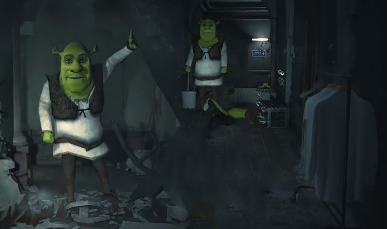 Shrek Replaces Mr X Mod Resident Evil 2 Remake Mods Gamewatcher