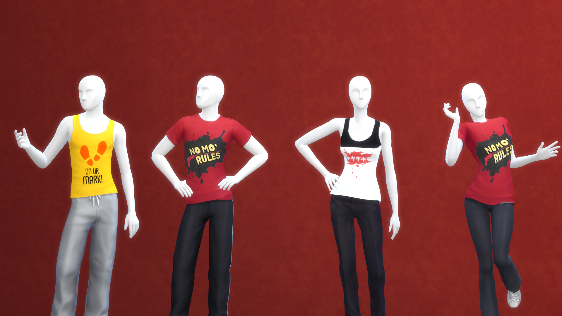 Persona 5 CC-Entire Collection V1 Mod - The Sims 4 Mods