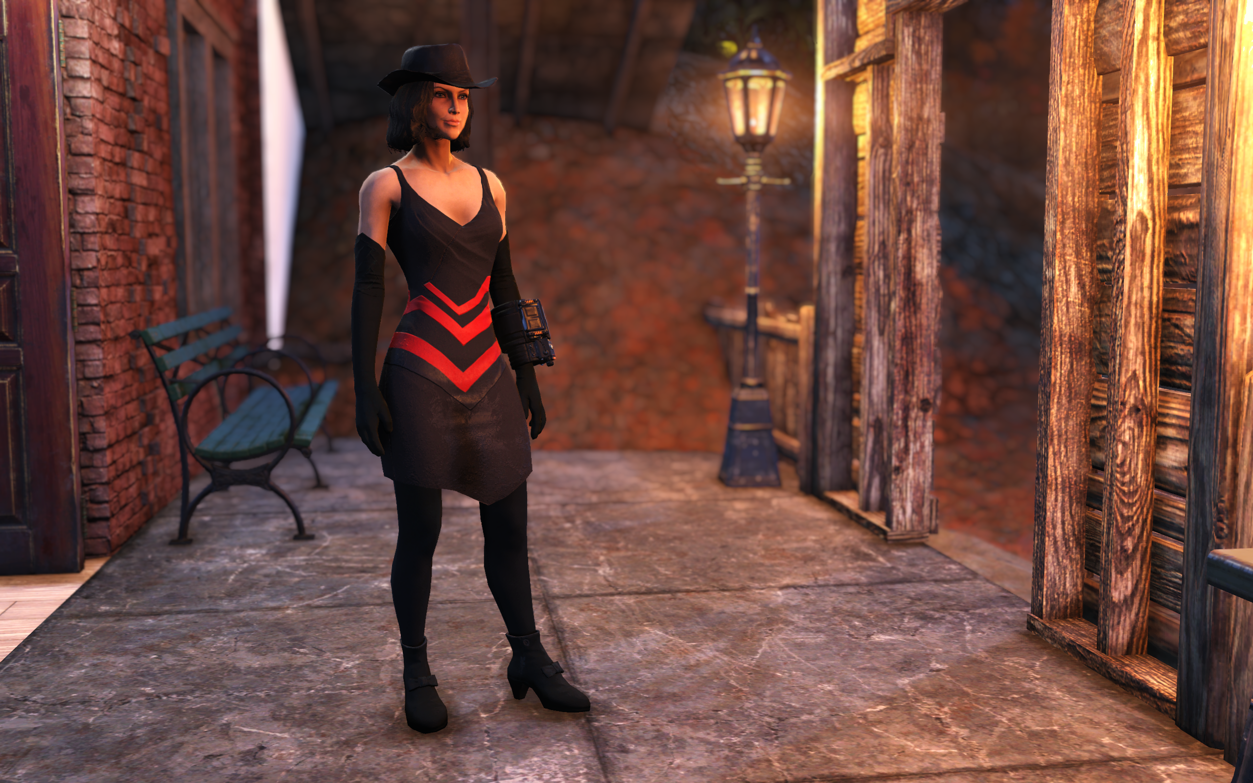Tattered Dress - 4K Multicolored Edition - Fallout 76 Mods