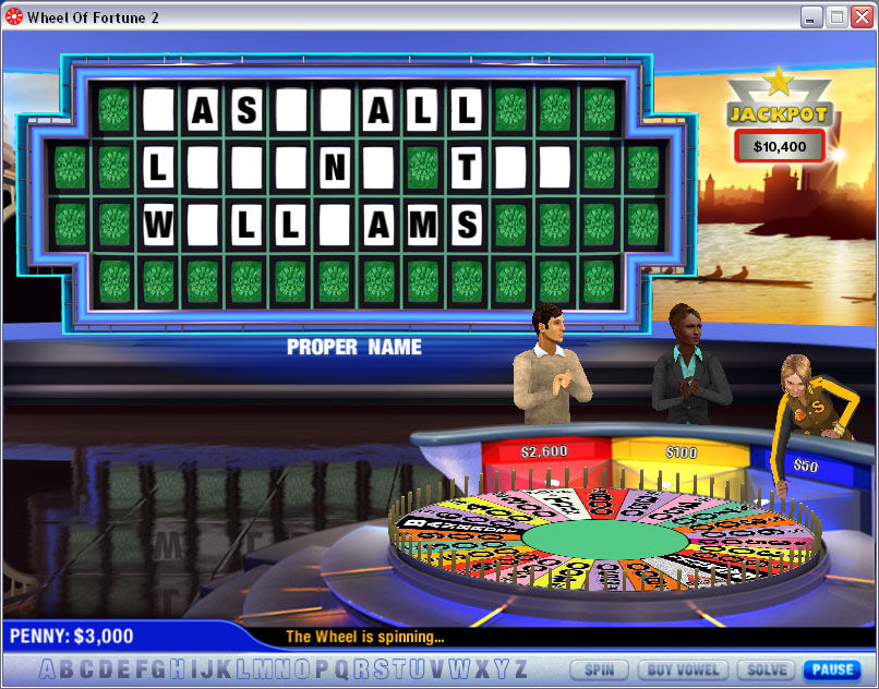 wheel of fortune 2 pc game